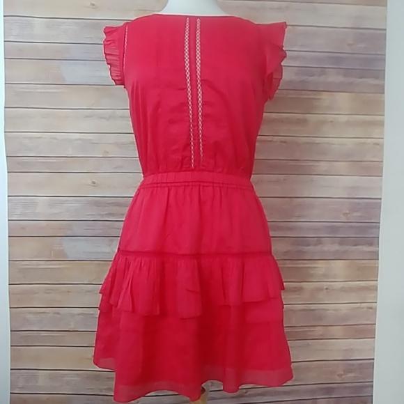 Scotch & Soda / Madison Scotch Dresses & Skirts - Scotch + Soda Sleeveless Dress w Pleated Ruffle